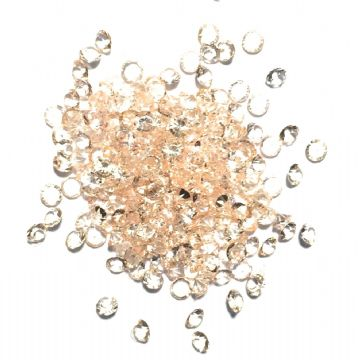 Resin sparkling crystals - 3mm - CHAMPAGNE